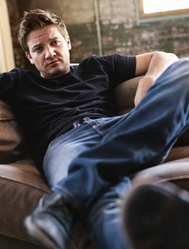 Jeremy Renner wallpaper possibly with a living room, a family room, and a drawing room entitled Mens Health(2010)