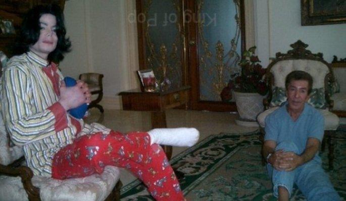 Michael Jackson and Al Malnik