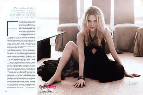 Michelle Pfeiffer - California Style Magazine