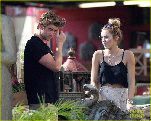 Miley Cyrus: Shopping with Mom Tish & Liam!