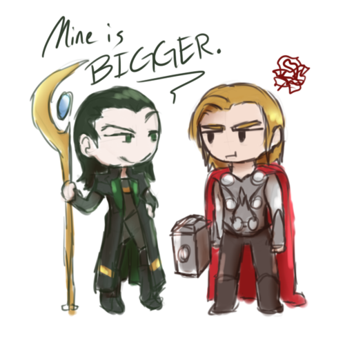 Mines is Bigger ;) - the-avengers Fan Art