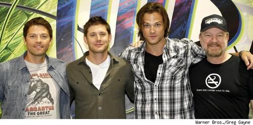 Misha, Jensen, Jared, Jim