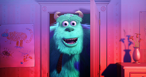 Monsters Inc. - disney Fan Art