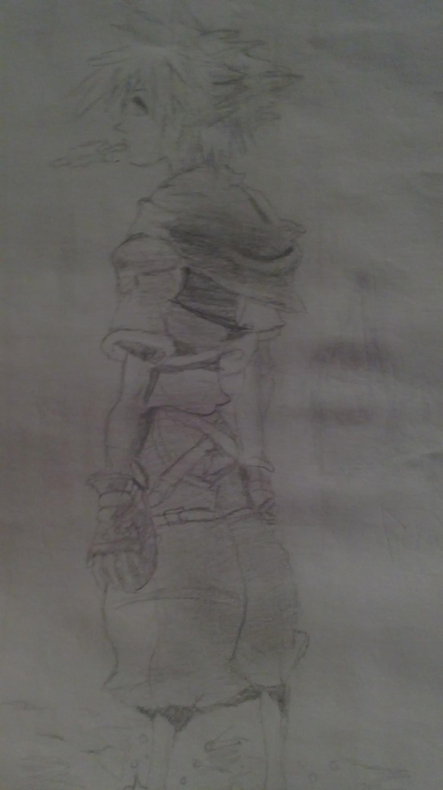 Kingdom Hearts Bilder My Drawing Of Sora Hd Hintergrund And