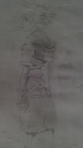 My Drawing of Sora