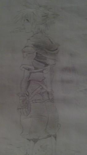 My Drawing of Sora