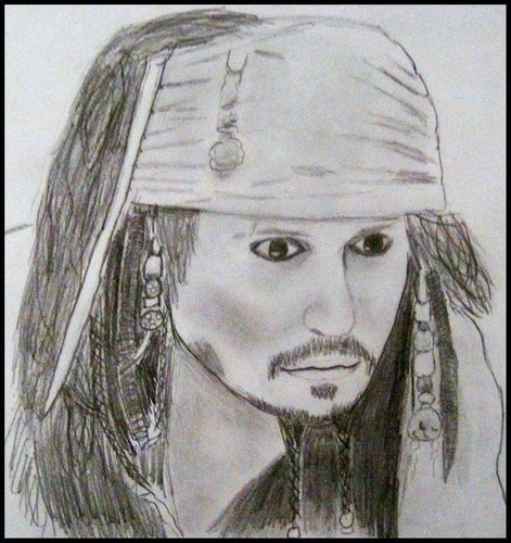 My Jack Sparrow Drawing