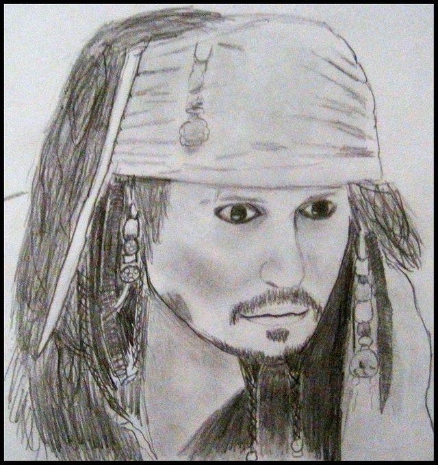 My Jack Sparrow Drawing Johnny Depp Fan Art 30938367