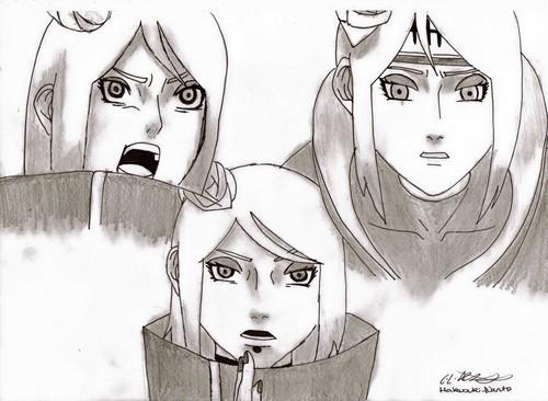 My drawing of Konan! ^_^