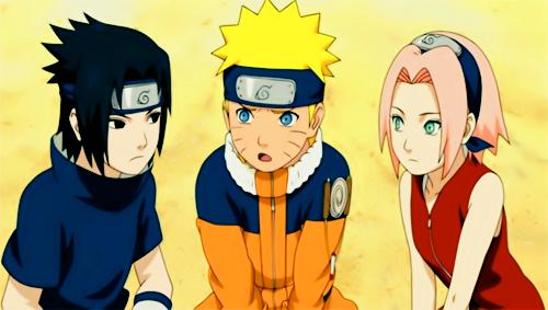 Naruto, Sakura and Sasuke
