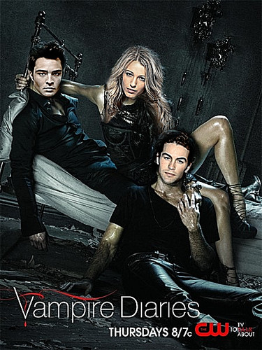Nate&Serena in Vampire Diaries