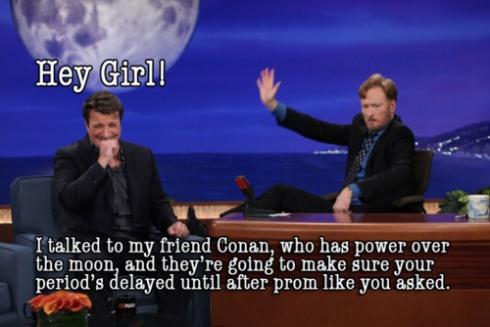 Nathan on Conan O´Brien