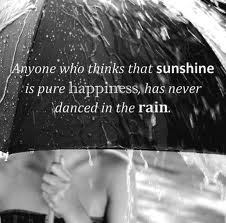 Never Danced in the Rain - poetry Photo