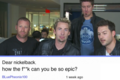 Nickelback epicness - nickelback fan art