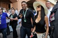 Nicole Scherzinger And Will Smith At Monaco Grand Prix Practise [26 May 2012] - nicole-scherzinger photo