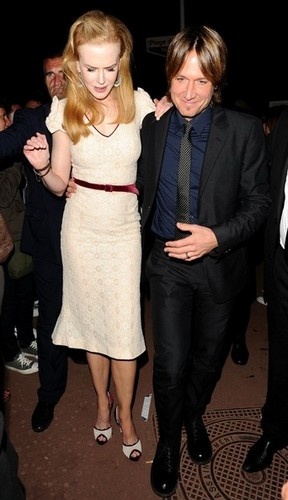 Nicole and Keith at Cannes