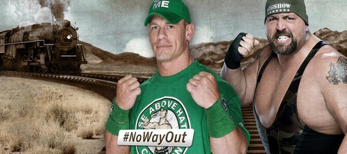 No Way Out:John Cena vs Big tunjuk