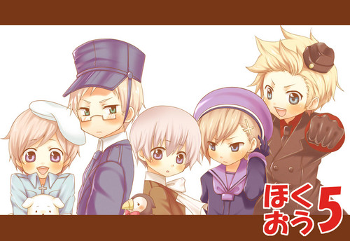Nordics^^ - hetalia-nordic-countries Fan Art