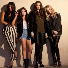 Pretty Little Liars wallpaper possibly with a well dressed person, a hip boot, and an outerwear entitled Nylon Photoshoot