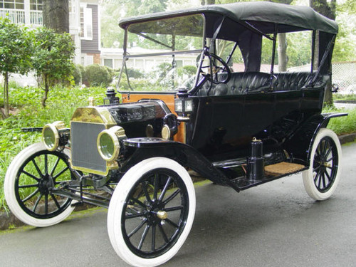 Old Ford cars