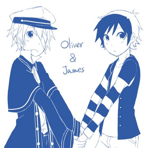 Oliver and [Human] James~!!