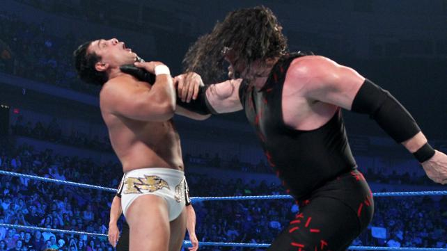 Orton vs Del Rio vs Kane