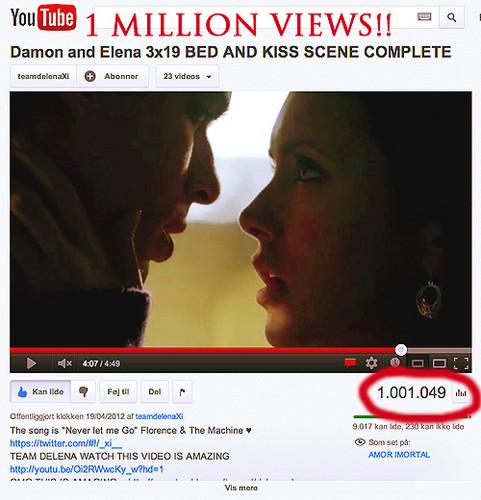 Over 1 million Ansichten ♥