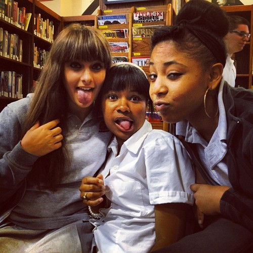 Paris Jackson and her Friends