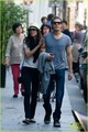 Paul Wesley &amp; Torrey DeVitto: Shopping in Paris! - paul-wesley photo