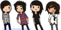 Pierce The Veil- Cartoon :)