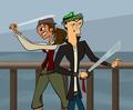 Pirates - total-drama-island fan art