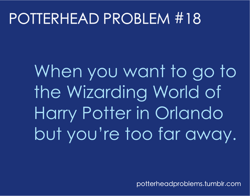 Potterhead problems 1-20