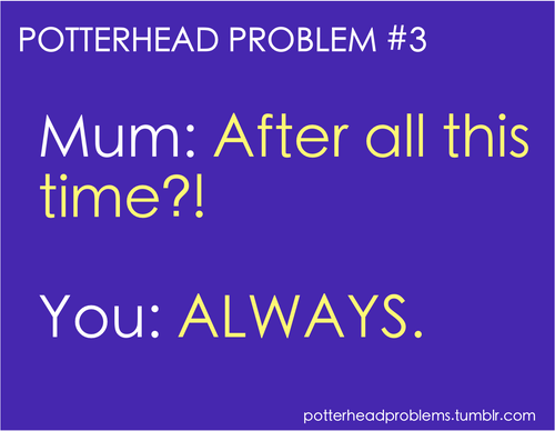 Potterhead problems 1-20