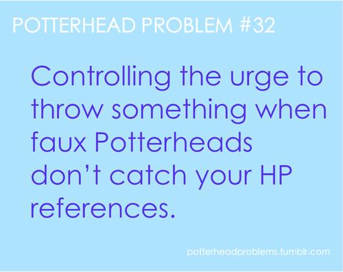Potterhead problems 21-40