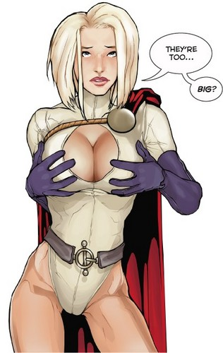 Tamar20 wallpaper called Power Girl