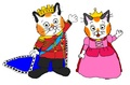 Prince Huckle and Princess Sally