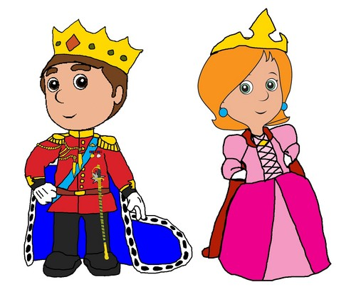 Prince Manny and Princess Kelly