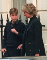 Princess Diana and Prince William - princess-diana-and-her-sons photo