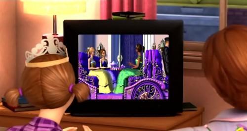 Princess-Waggon in TV