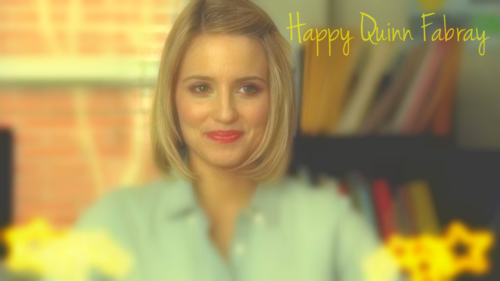 Quinn Fabray Обои containing a portrait entitled Quinn Fabray