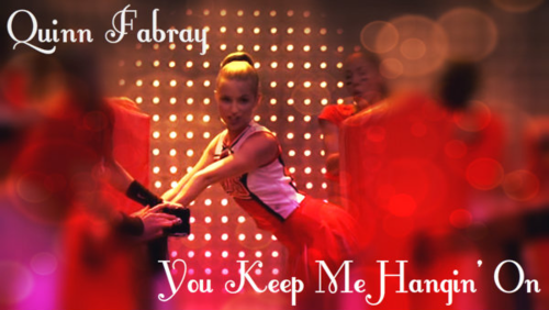 Quinn Fabray wallpaper possibly with a concert titled Quinn Fabray
