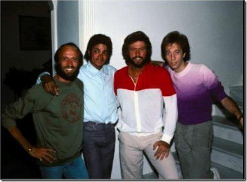 R.I.P Robin Gibb ! Michael Jackson and Bee Gees (Robin Gibb) |RARE|♥:( - michael-jackson Photo
