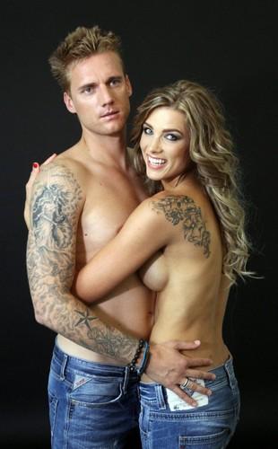 Radoslav Kovac and wife again naked