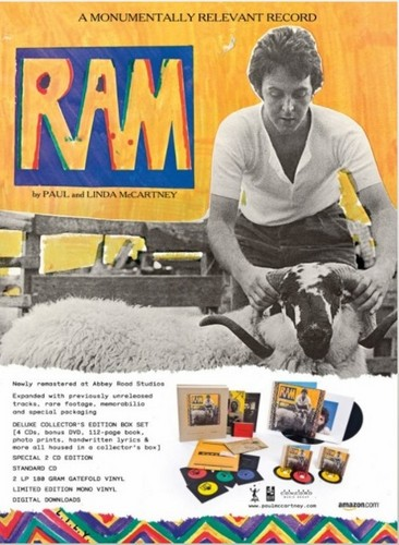Paul McCartney wallpaper possibly with a newspaper entitled Ram