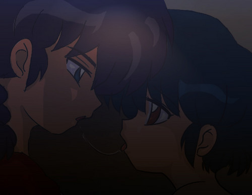 Ranma and Akane _ In the Dark
