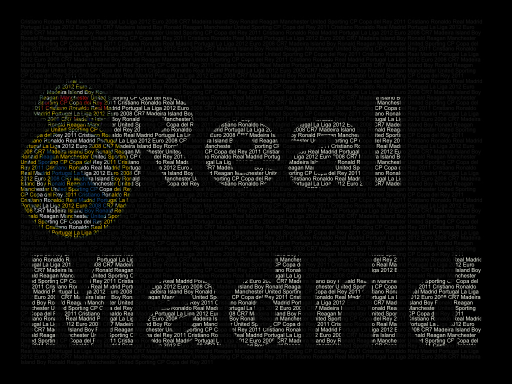 Real Madrid Fan S Word Art Real Madrid C F Fan Art