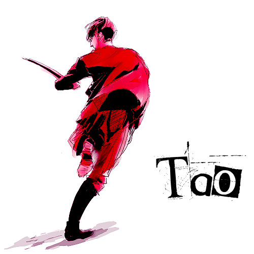 Tao wallpaper titled Red Sword