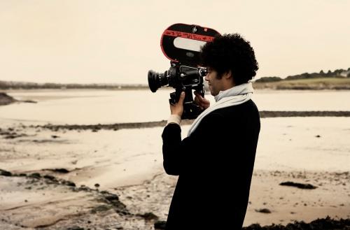 Richard directing The Submarine