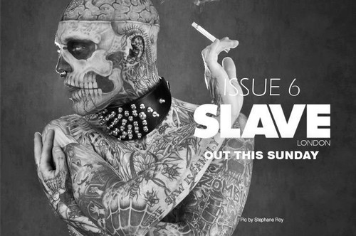 Rick Genest for Slave Magazine