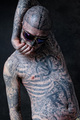 Rick Genest photoshoot by Bartek Sejwa December 2011